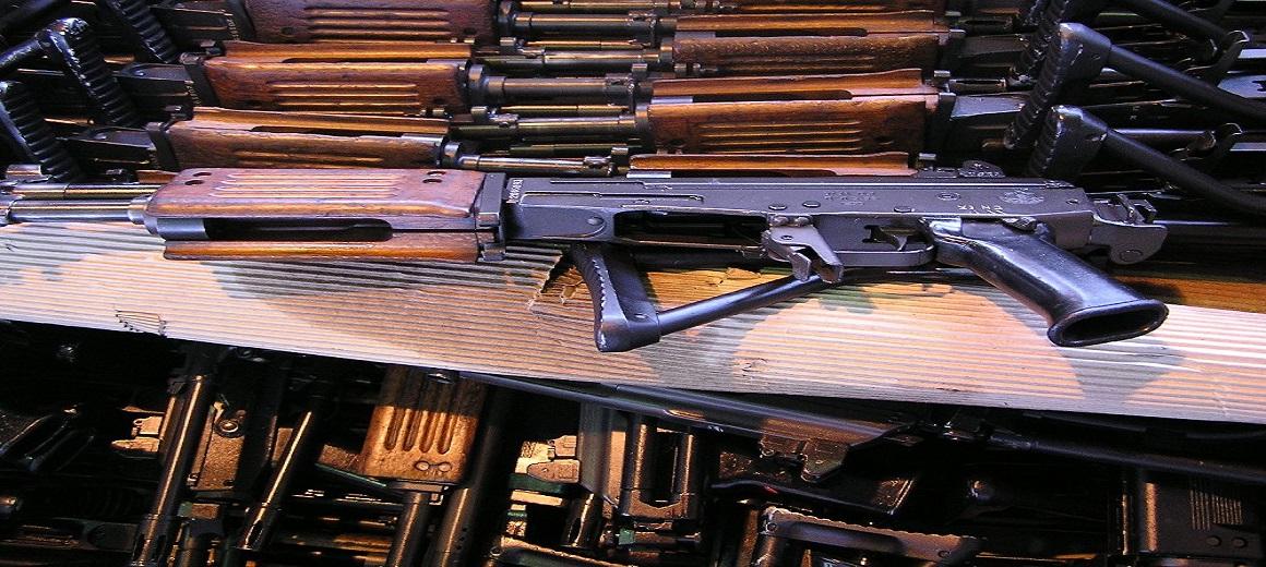 SUB-MACHINE GUN AND RIFLE SHIPMENTS
