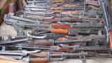 SUB-MACHINE GUN AND RIFLE SHIPMENTS (16)