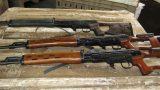 SUB-MACHINE GUN AND RIFLE SHIPMENTS (25)