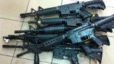 SUB-MACHINE GUN AND RIFLE SHIPMENTS (36)